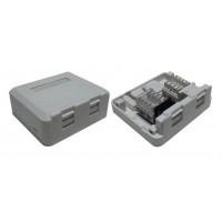 YKS-BX102 @ Office Box 2-Port RJ45