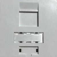 YKS-FP4501@ 45 x 45 Faceplate Fransız Tipi