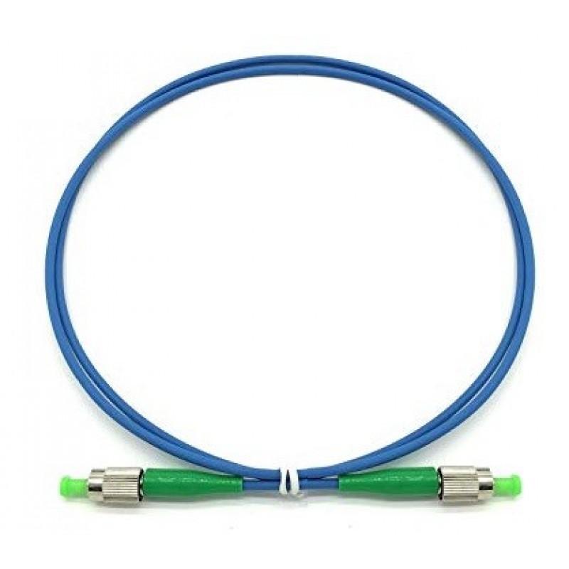 FAPS-S166010 @ FC/APC-FC/APC SM Simplex OS1 9/125μ LSZH Armoured Patch Cord 10m