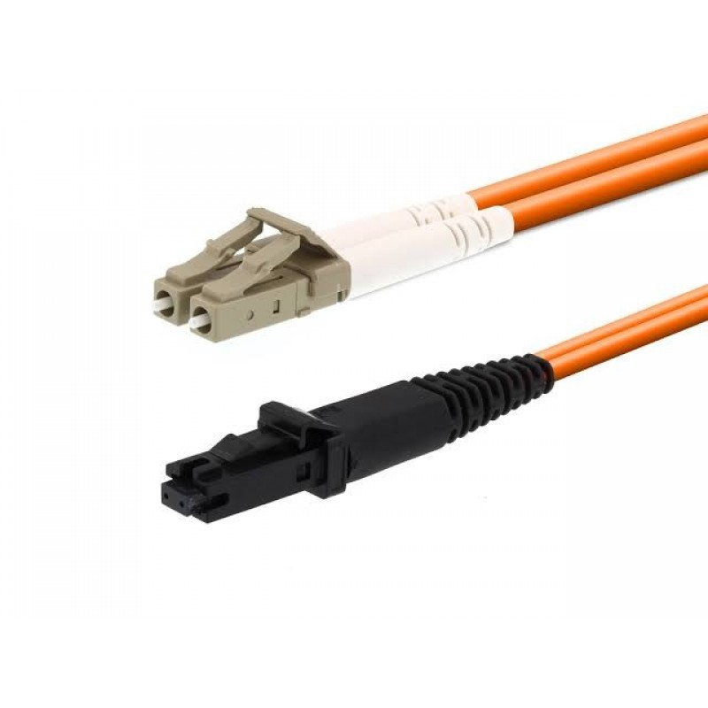 MTRJ to LC/UPC Fiber Optik Patch Cord Duplex MM OM1 62.5/125μ 2Mt