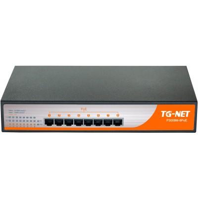 P3008-8POE @ 8 RJ45 PoE RJ45 Gigabit Ethernet PoE Switch