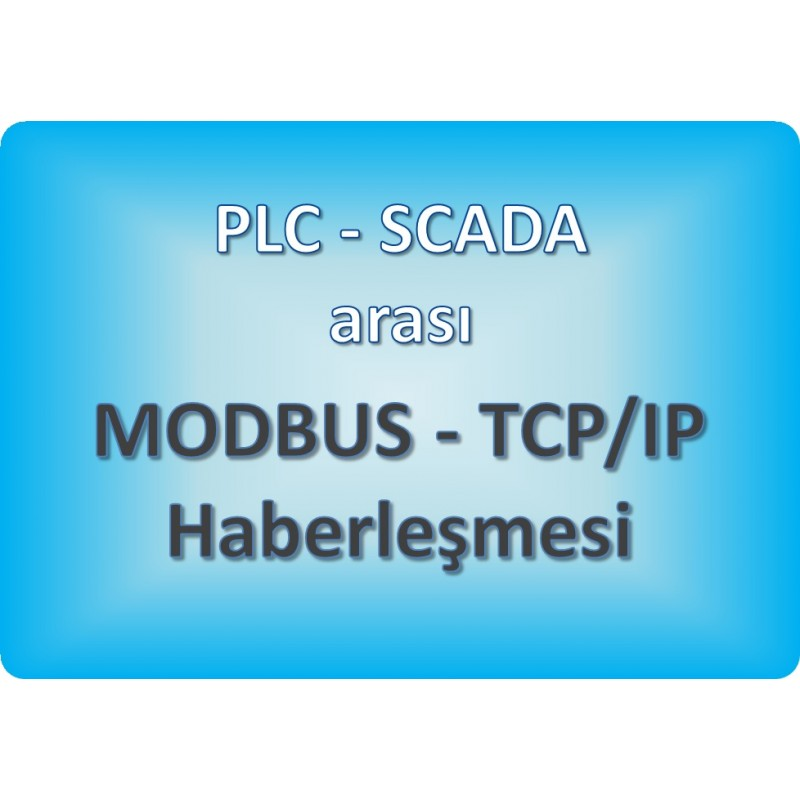 GBT-C1202 - PLC ve SCADA Arasında MODBUS Haberleşmesi